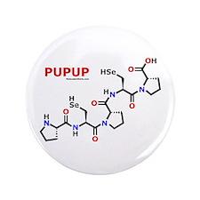 """Pupup name molecule 3.5"""" Button"""