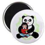 Panda Hugs Magnet