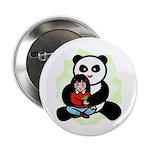 Panda Hugs Button