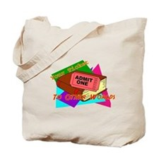 Your Ticket To Other Worlds Reading Tote Bag