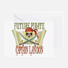 Captain Landon Greeting Card
