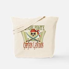 Captain Landon Tote Bag