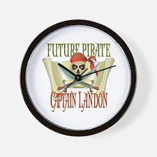 Captain Landon Wall Clock