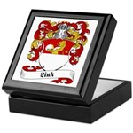 Link Family Crest Keepsake Box