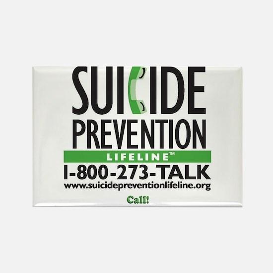 Prevent Suicide! Rectangle Magnet