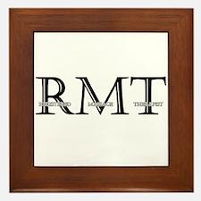 Registered Massage Therapist Framed Tile