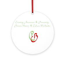Persian Bazaarcheh Ornament (Round)