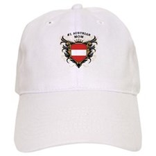 Number One Austrian Mom Baseball Cap
