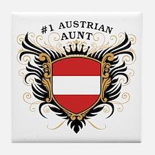 Number One Austrian Aunt Tile Coaster