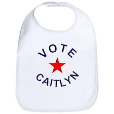 Vote Caitlyn! Bib