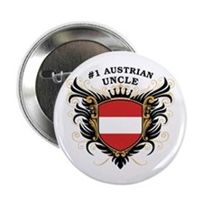"""Number One Austrian Uncle 2.25"""" Button"""