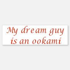 Dream Guy Ookami 4 Bumper Bumper Bumper Sticker