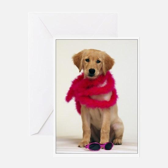 Golden Diva Puppy SNAPshotz Photo Card
