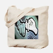 Cute Sign language interpreters Tote Bag
