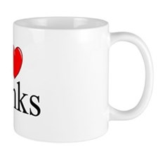 """I Love (Heart) Banks"" Mug"