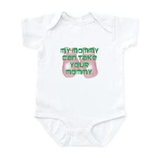 Boxing mommy Onesie