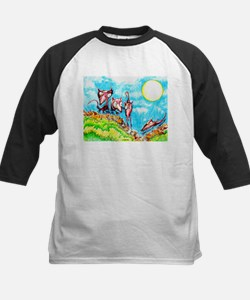 Rat Moon Kids Baseball Jersey