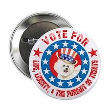 """Vote for Bichon 2.25"""" Button (10 pack)"""