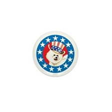 Vote for Bichon Mini Button