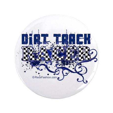 """Dirt Racer 1 3.5"""" Button"""