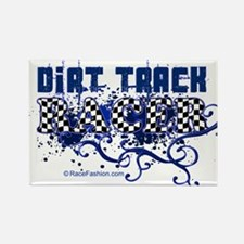 Dirt Racer 1 Rectangle Magnet