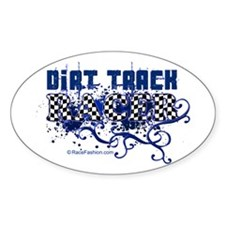 Dirt Racer 1 Oval Decal