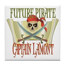 Captain Lamont Tile Coaster