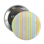 "Pink, Yellow, Blue Stripe 2.25"" Button (10 pack)"