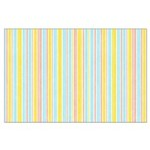 Pink, Yellow, Blue Stripe Large Poster