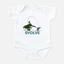 Funny fishing Infant Bodysuit