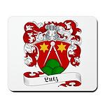 Lutz Family Crest Mousepad