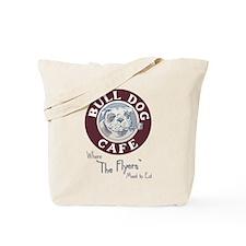 Bulldog Cafe Tote Bag