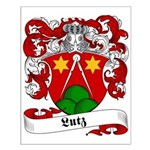 Lutz Family Crest Small Poster