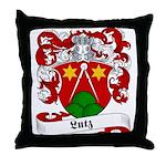 Lutz Family Crest Throw Pillow