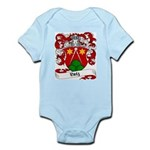 Lutz Family Crest Infant Creeper