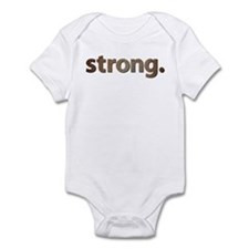 """STRONG."" Infant Bodysuit"
