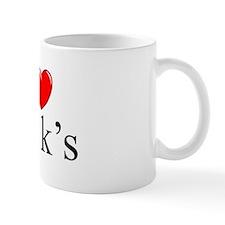 """""""I Love (Heart) 401k's"""" Mug"""
