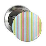 "Pink, Blue, Green Stripe 2.25"" Button"