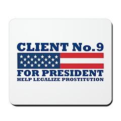 Client No.9 Mousepad