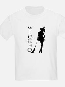 Witching Circles Black T-Shirt