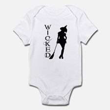 Witching Circles Black Infant Bodysuit