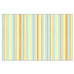 Orange, Yellow, Blue Stripe Large Poster