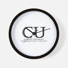 Colonic University Wall Clock