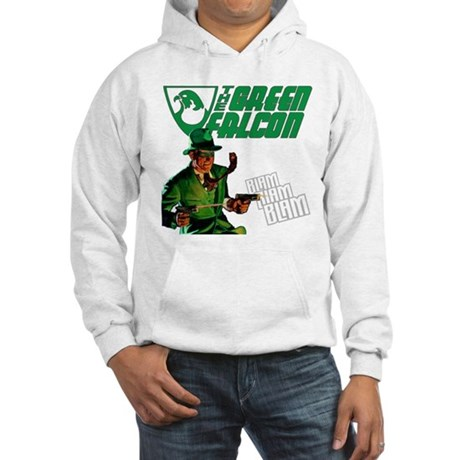 The Green Falcon Hooded Sweatshirt