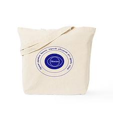 Newton Quote Latin Tote Bag