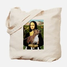 Mona Lisa (new) & Amstaff Tote Bag