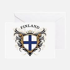 Finland Greeting Card