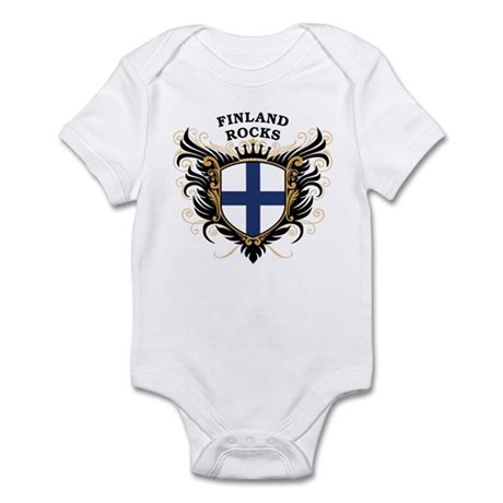 Finland Rocks Infant Bodysuit