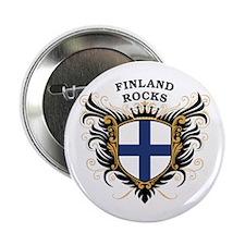 """Finland Rocks 2.25"""" Button"""