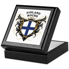 Finland Rocks Keepsake Box